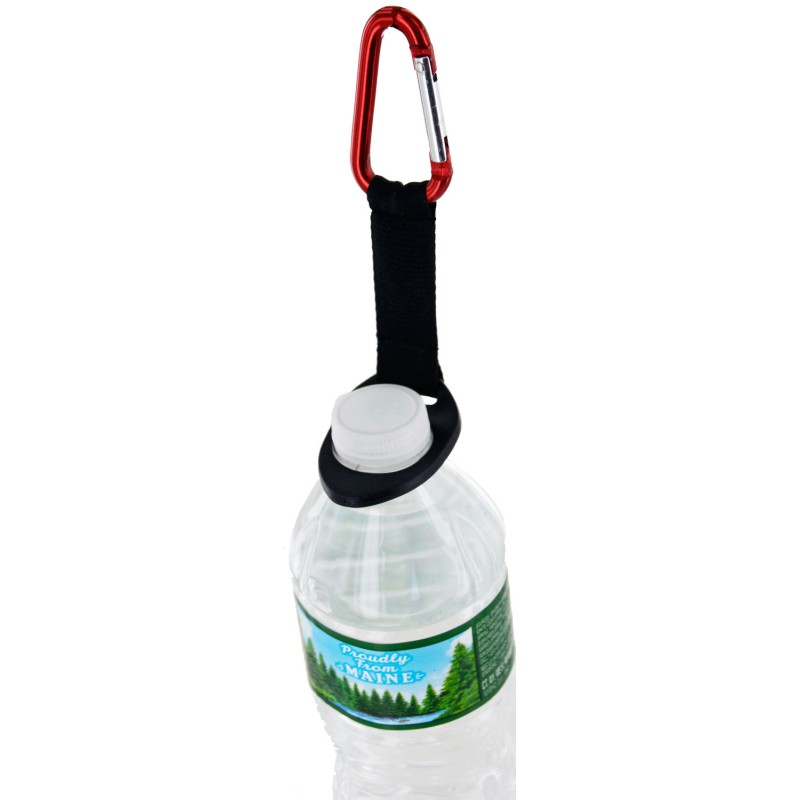 Water Bottle With Strap: Water Bottle Nylon Strap With Soft Flex Rubber